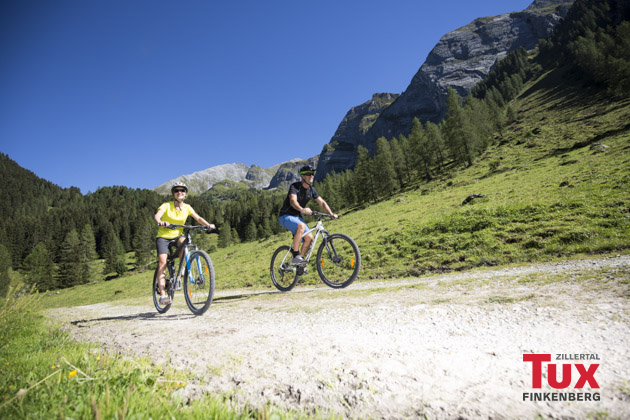 Mountainbiken im hinteren Zillertal