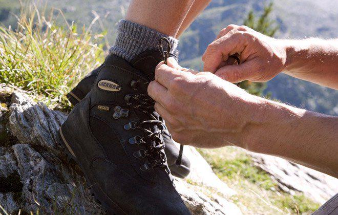 Schuhe binden, fertig, los - Wanderurlaub in Tux