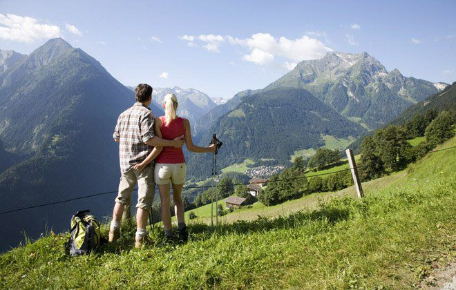 Romantische Weitwanderwege in den österreichischen Alpen