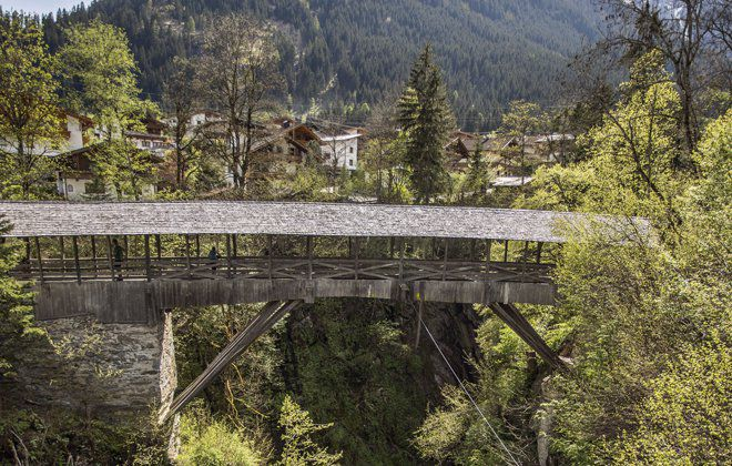 Teufelsbrücke in Finkenberg
