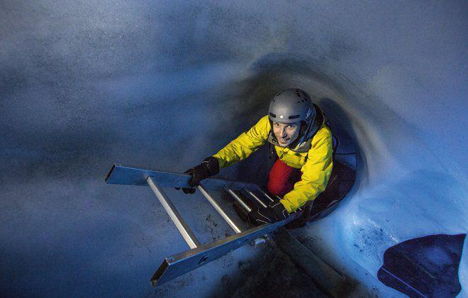 Erlebnis Eispalast Hintertuxer Gletscher