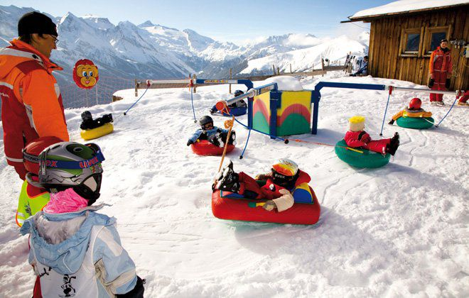Kinderpark Eggalm im Winter