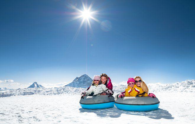 Glacier flea park Hintertux Glacier