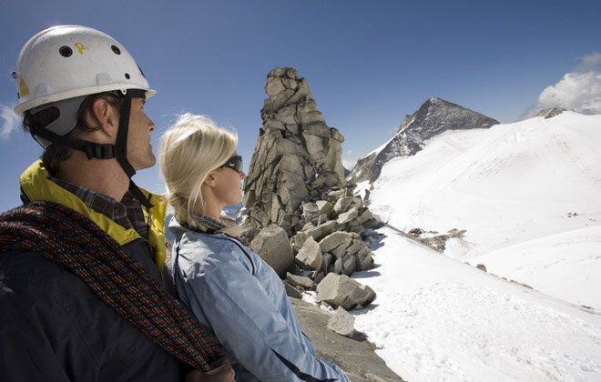 Guided Glacier tour inZillertal