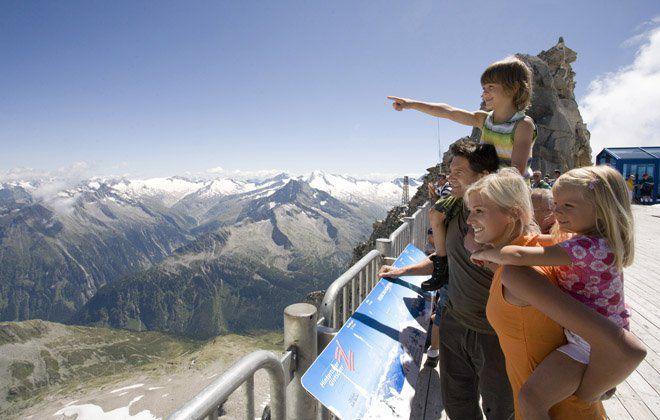 Familienausflug in Tirol