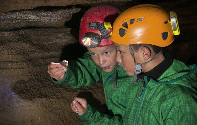 Erkundungstour in der Spannagelhöhle