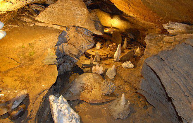 Spannagelhöhle am Hintertuxer Gletscher