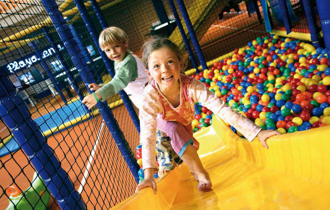 Softplay Arena in der Playarena