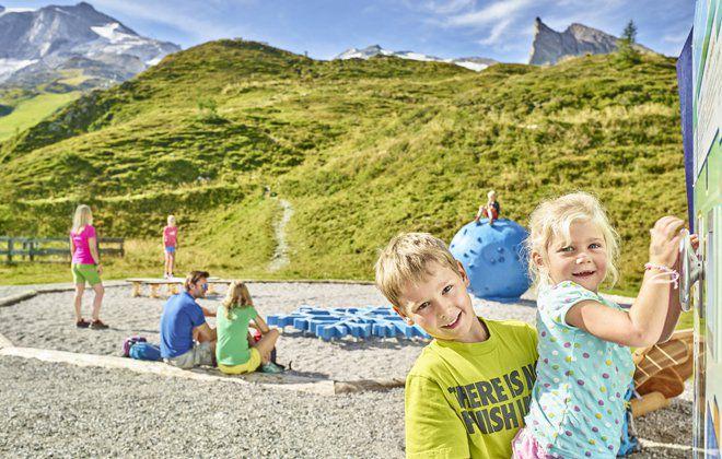 Spiel und Spaß im Gletscherflohpark