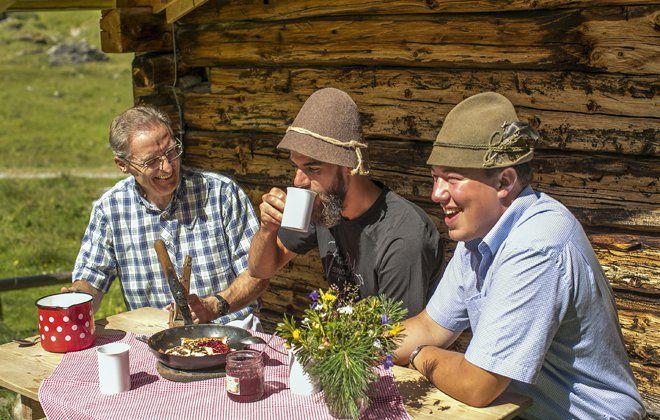 Genuss auf den Tiroler Almen