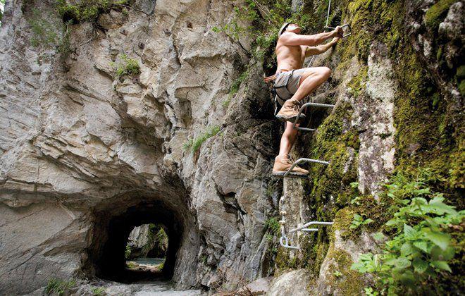 Klettersteig in Tux