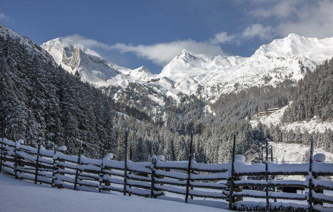Winterlandschaft im Zillertal