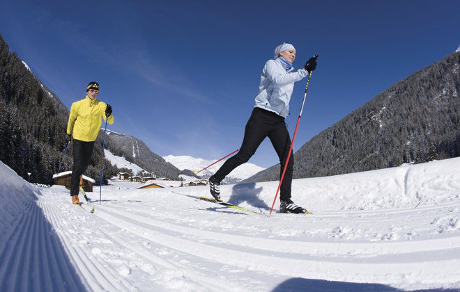 Cross-country skiing in Zillertal