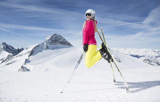 Skiing enjoyment in Ski- and Glacierworlt Zillertal 3000