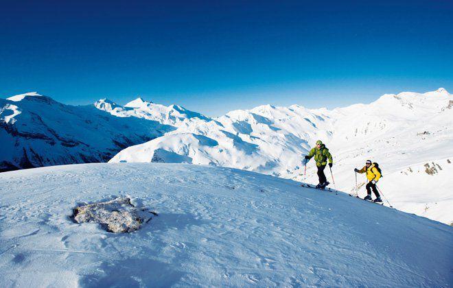 Skitouren durch unberührte Natur