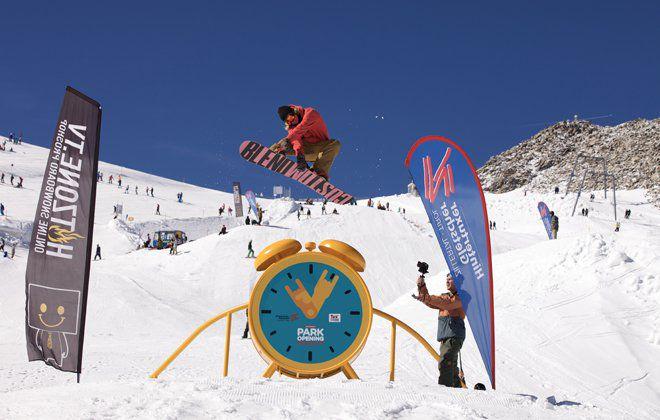 Freestyle im Snowpark Tux-Finkenberg