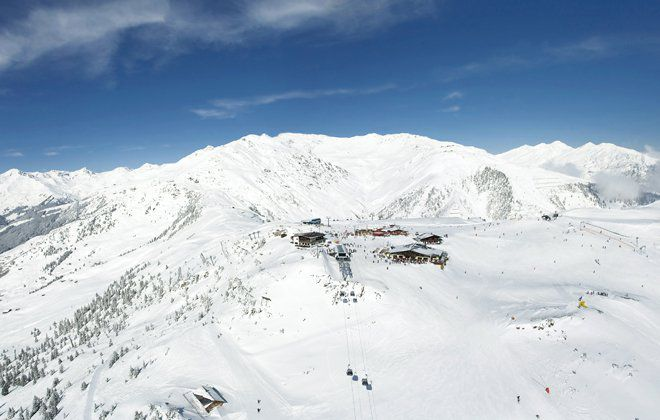 Winter panorama Zillertal