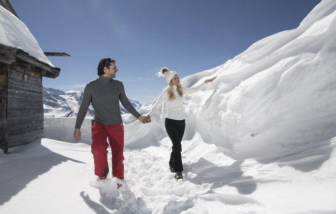 Snowhiking in Tux-Finkenberg