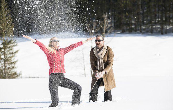 Winterfreuden im verschneiten Tux-Finkenberg