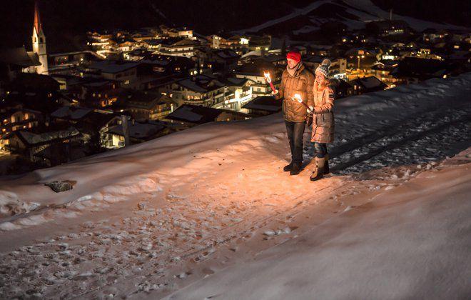 Winterwanderung durchs verschneite Tuxertal