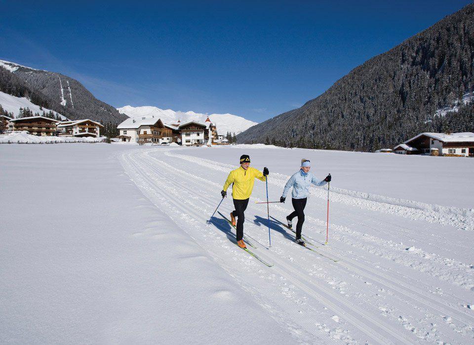 Cross-country skiing in Tux-Finkenberg