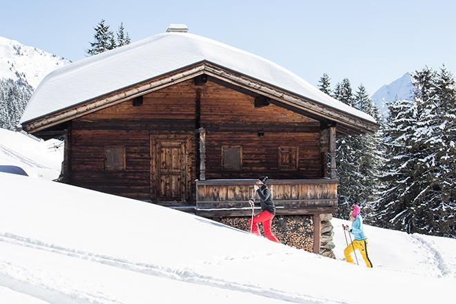 Ski tour in Tux-Finkenberg