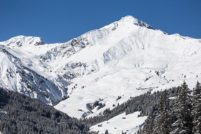 Winter in the Zillertal valley