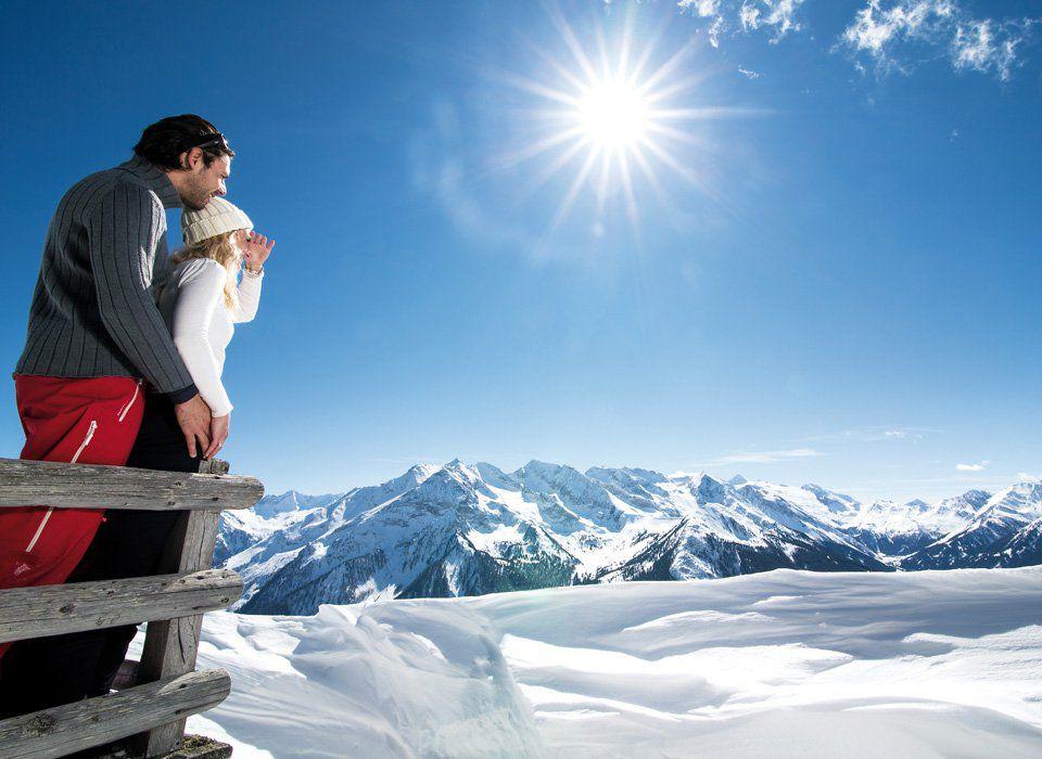 Winter hiking trails in Tux-Finkenberg